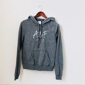 A&F•Grey Hoodie
